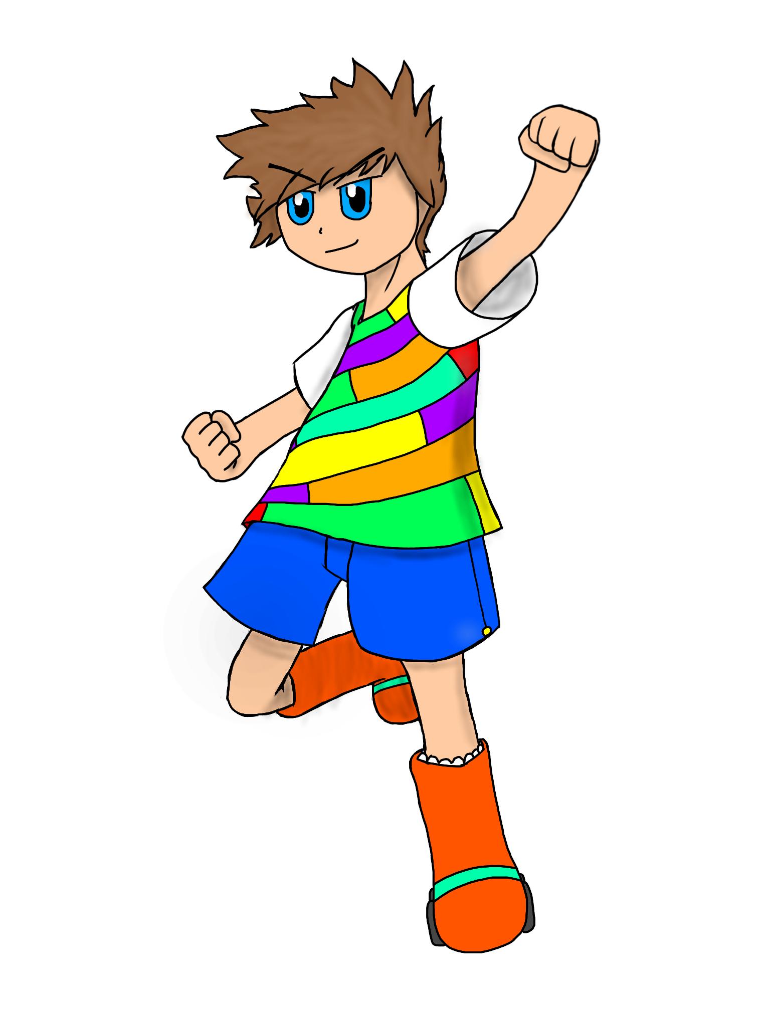 Masaru Character Art