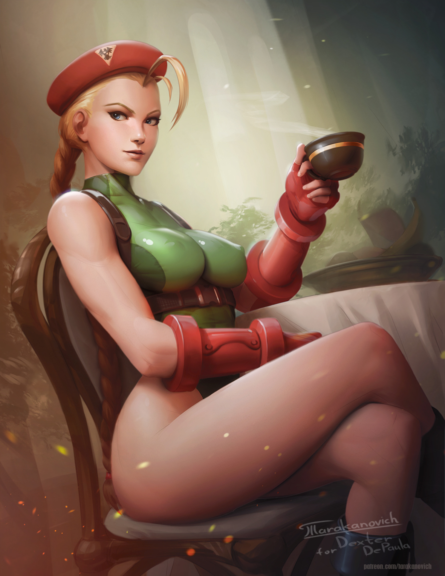 Cammy's tea time