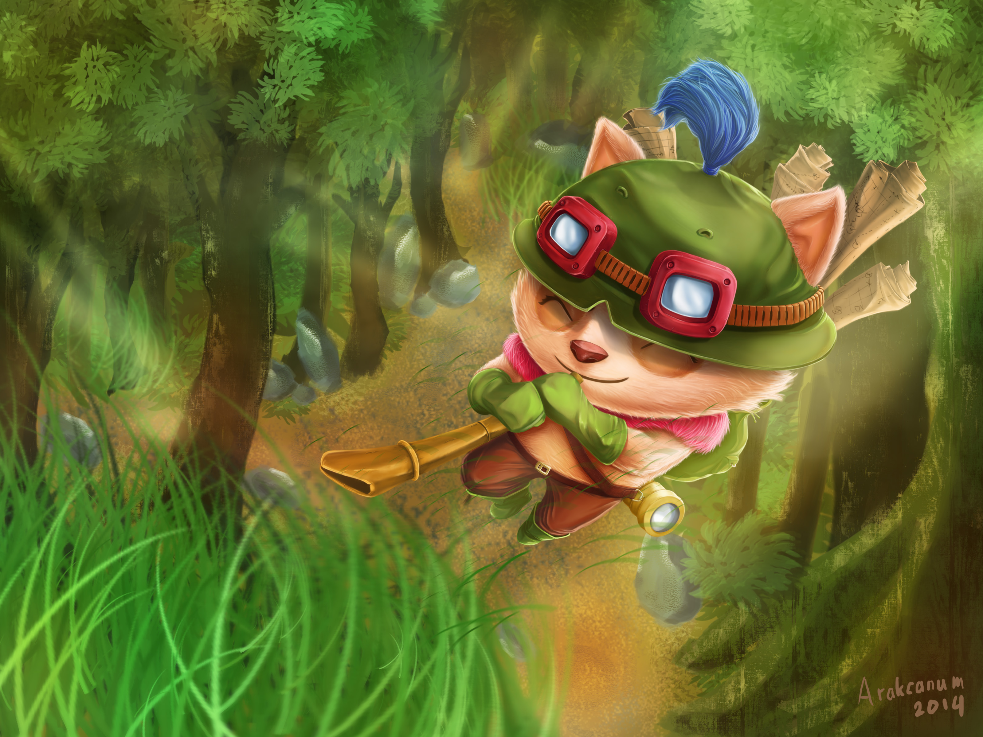 Captain Teemo Ambush