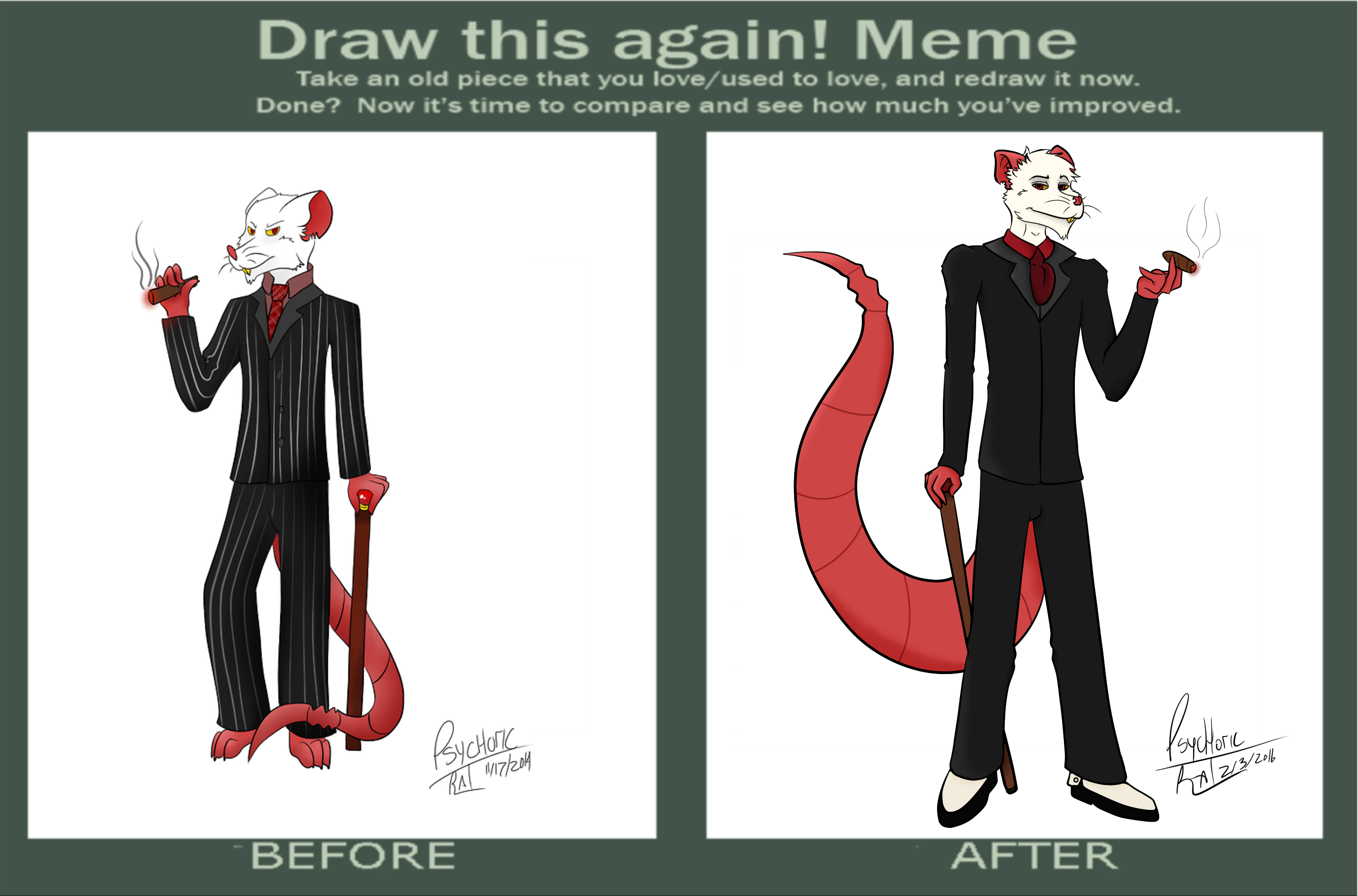 Draw This Again Meme By Psychoticrat On Newgrounds