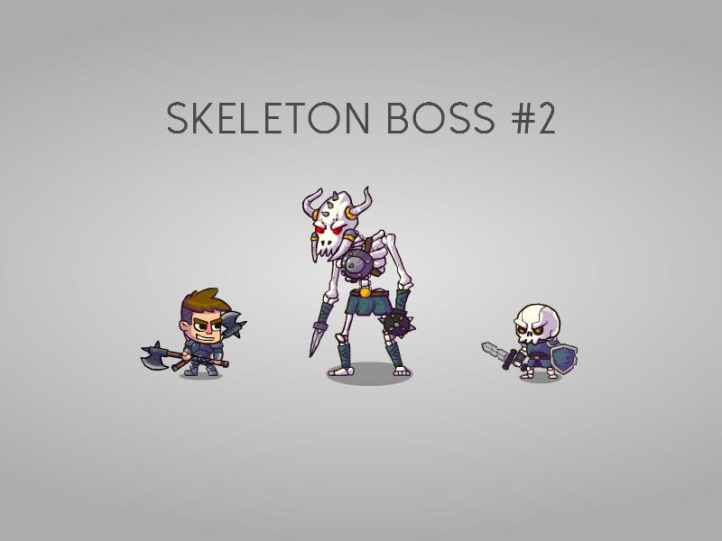 Skeleton Boss for my game