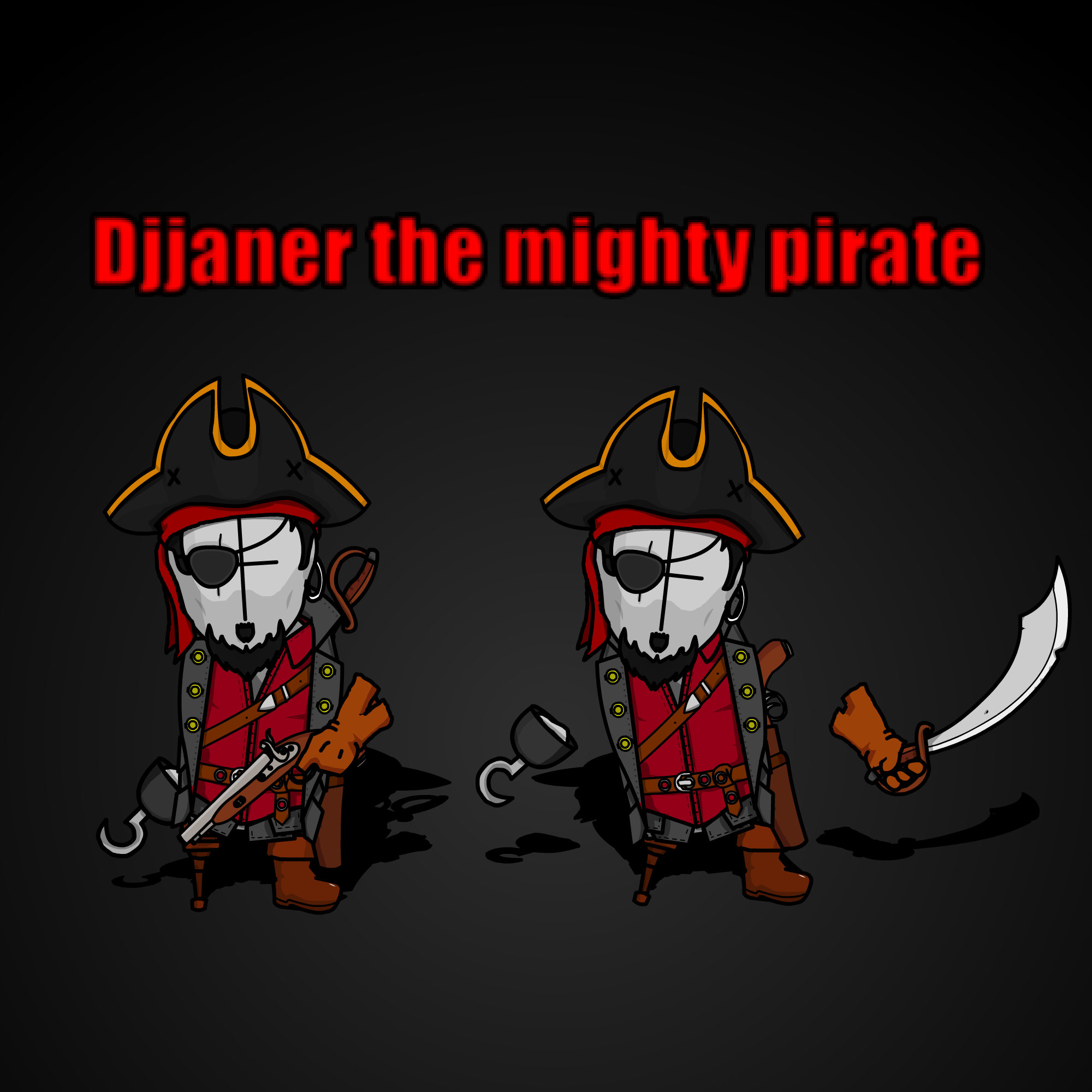 Djjaner the Mighty Pirate