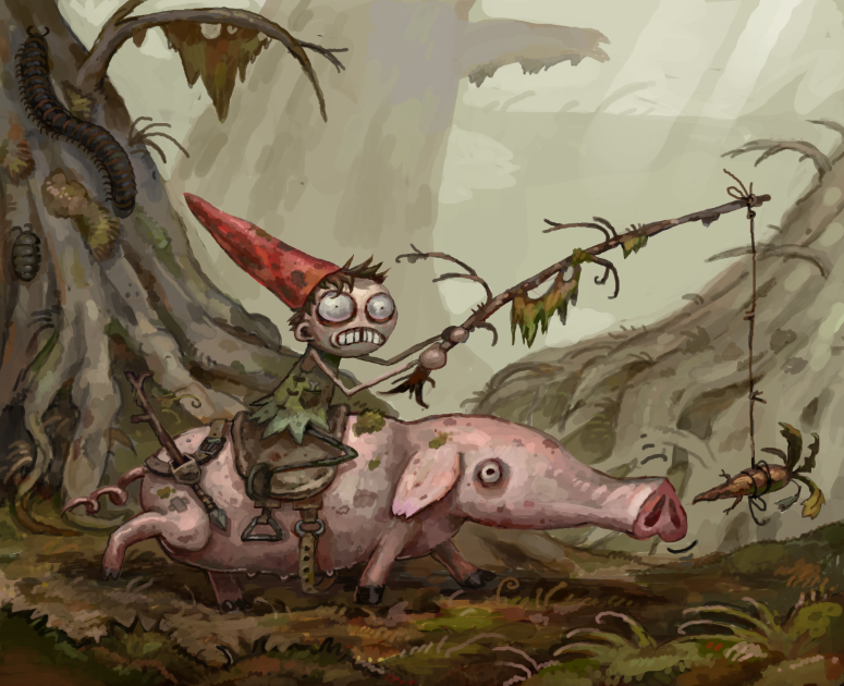 What the fuck is a gnome?