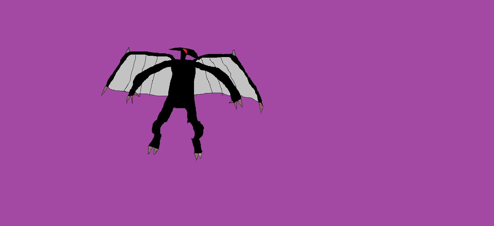 the dragon demon (via windows paint)