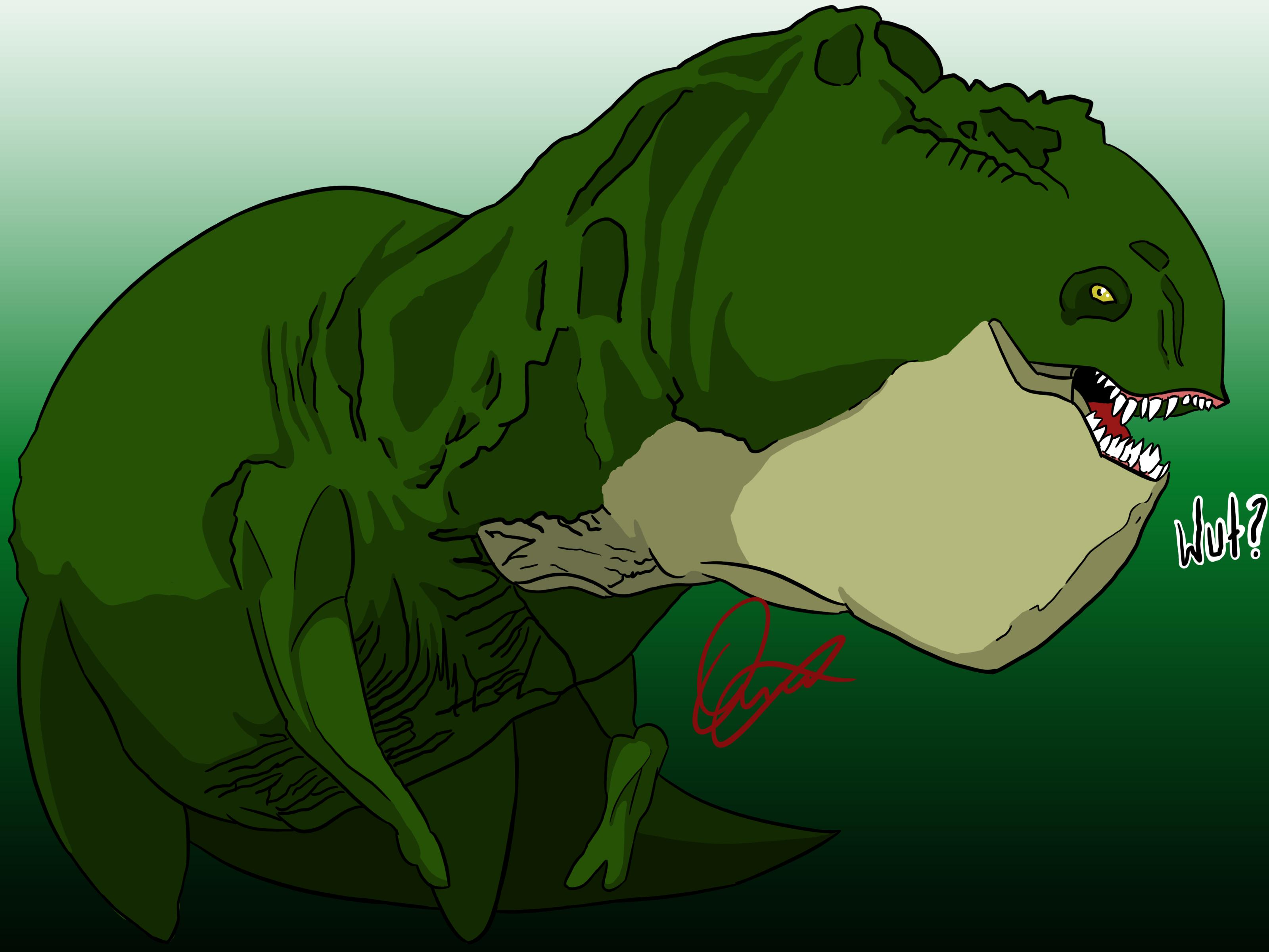 Derpasaurus Rex