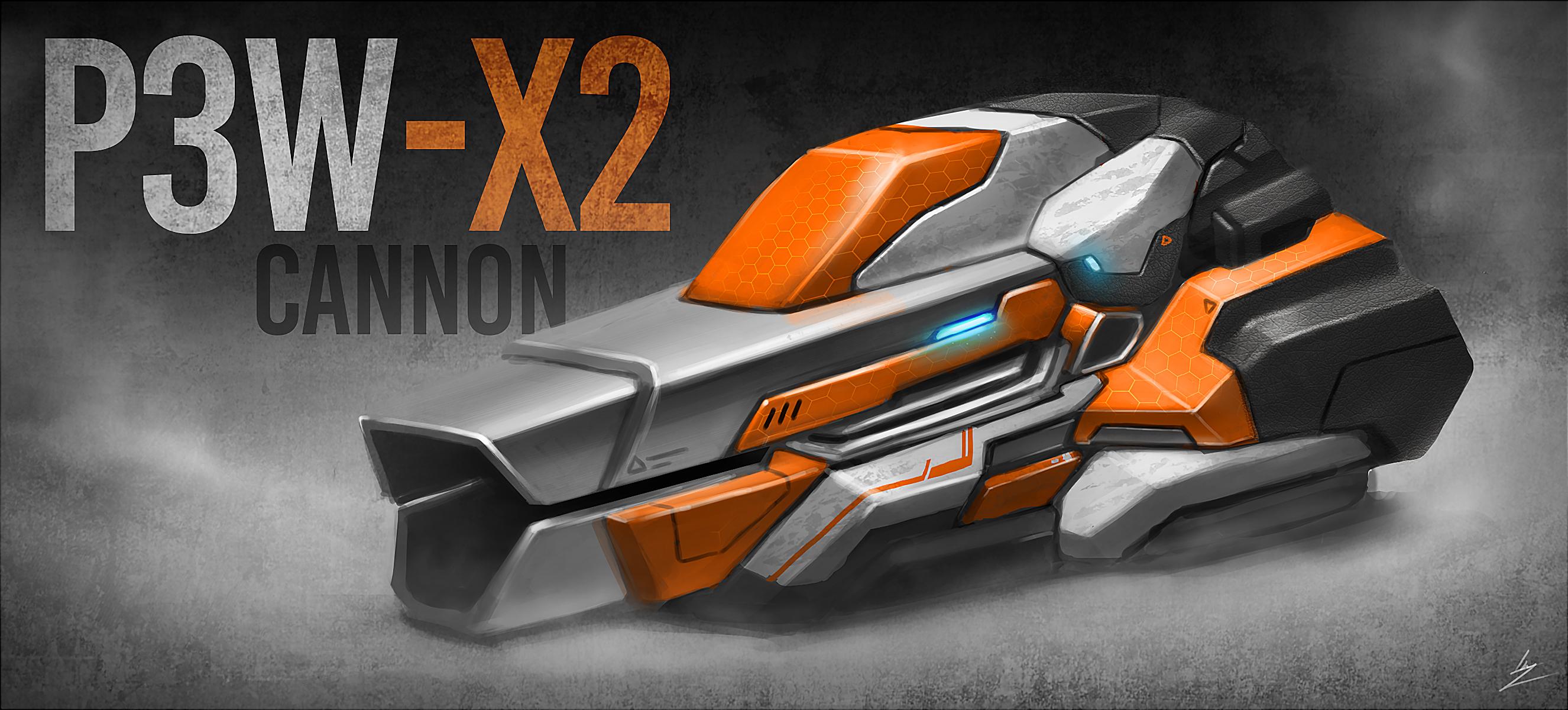 P3W-X2 Cannon Concept