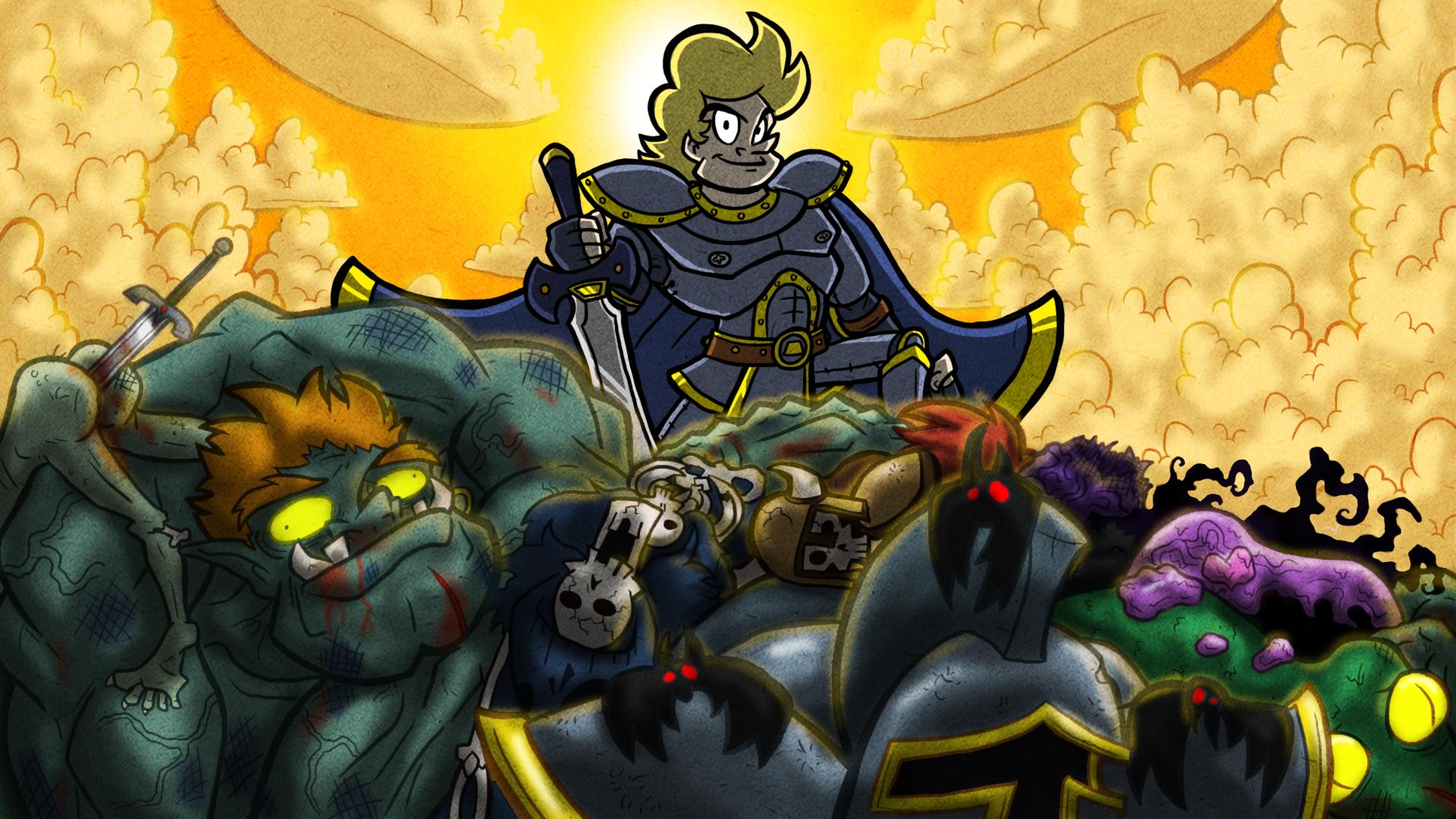 Sir Dufius vs Monsters FINALE