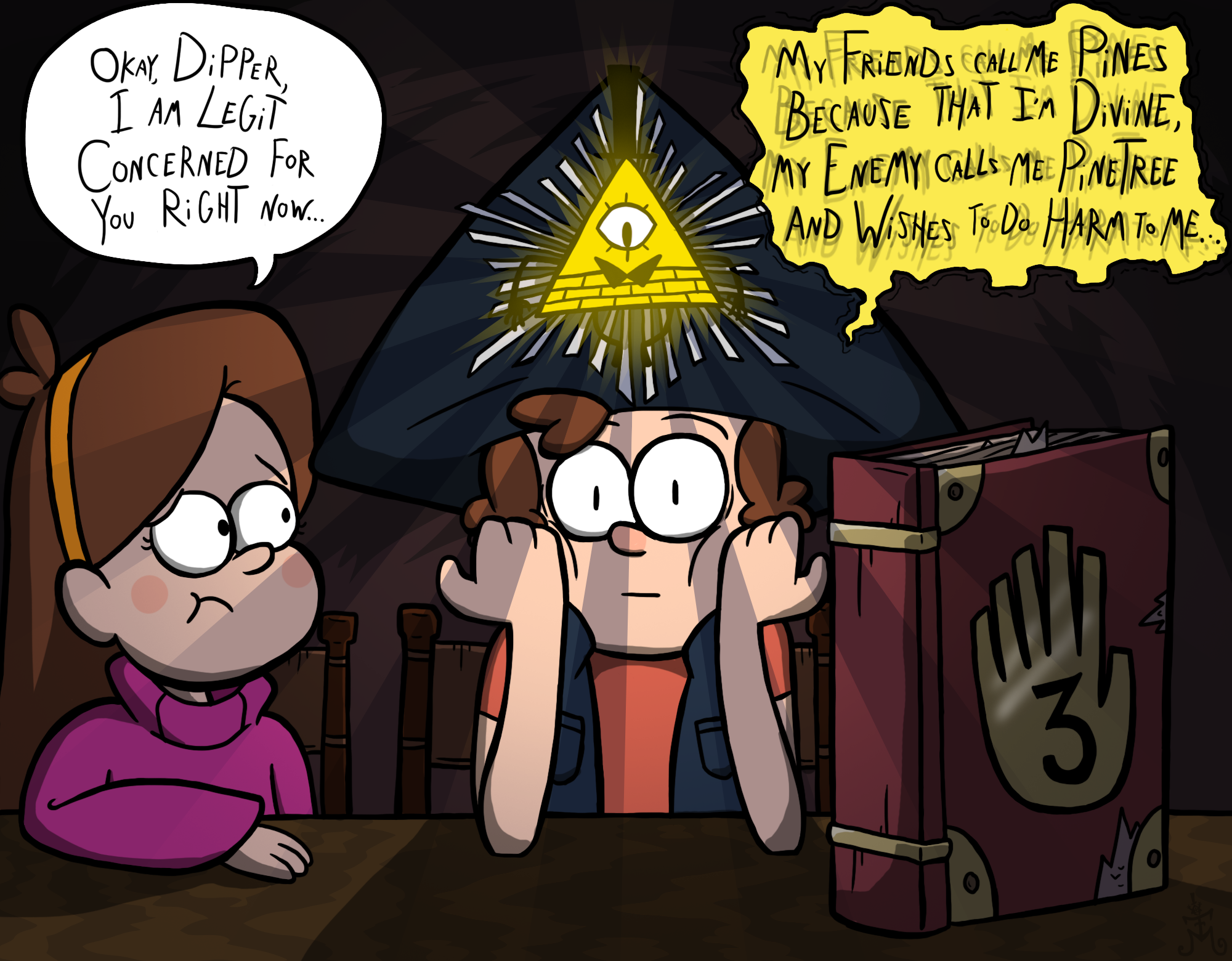 Dipper Attempts a Thelemic Ritual