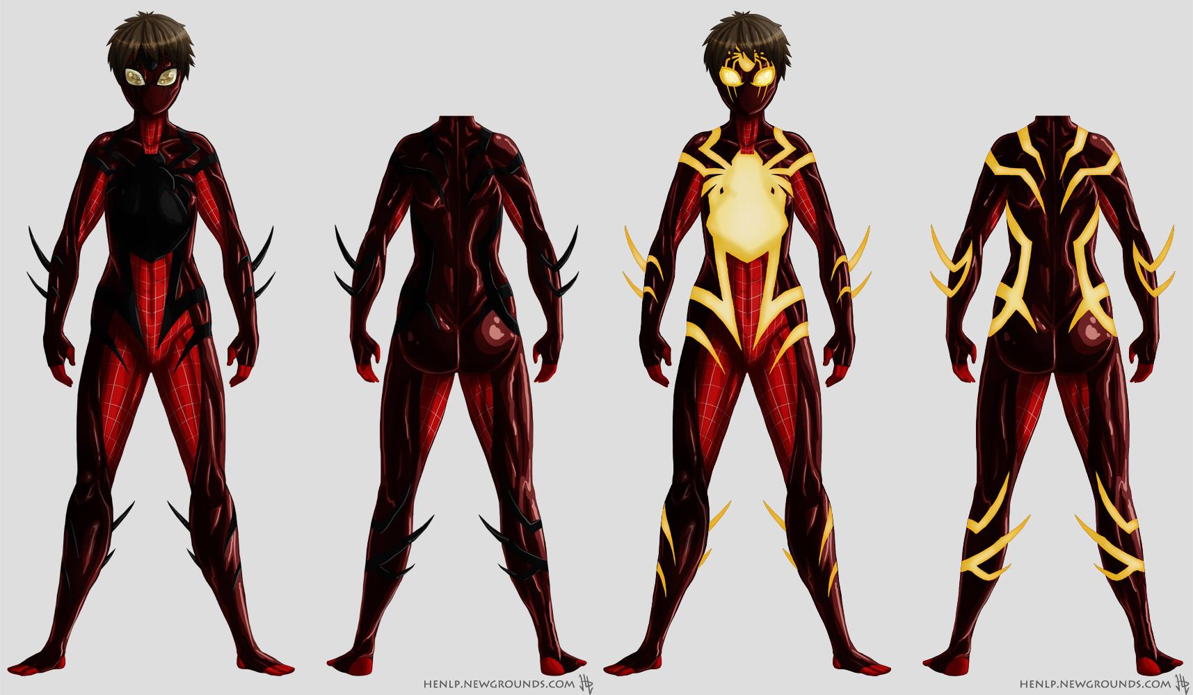 Spidey-Girl Suit Design