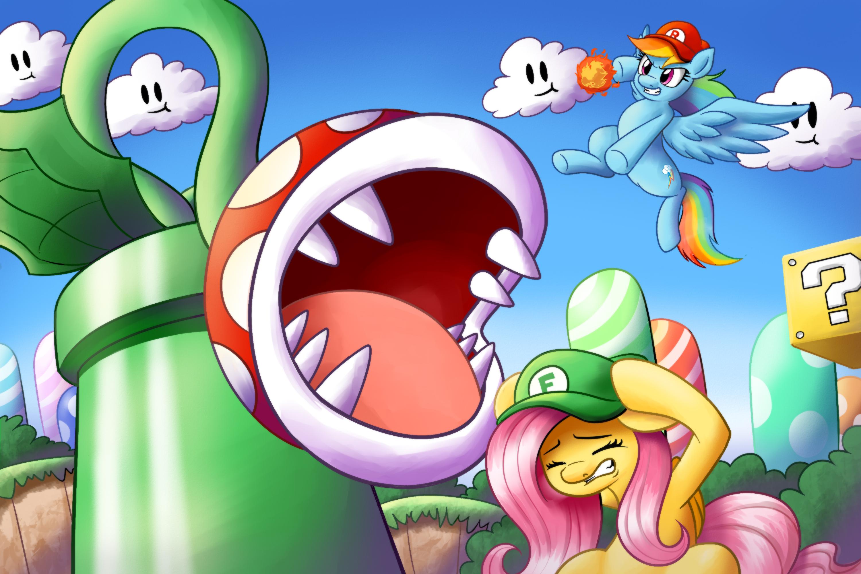 Mario Bros. x MLP Crossover