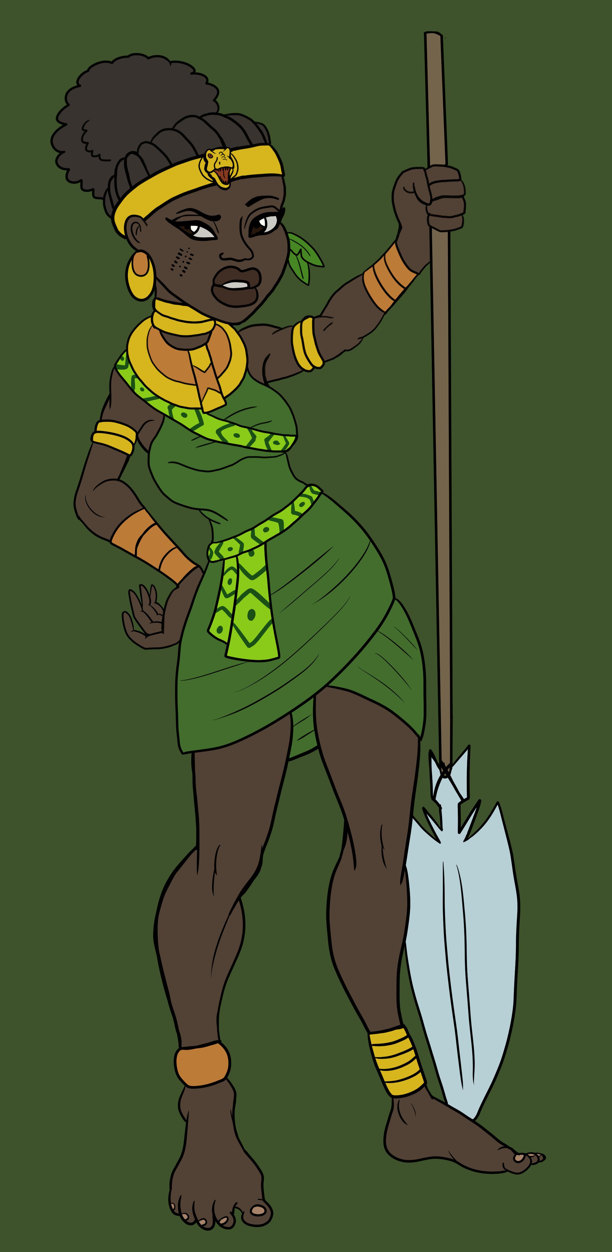 Ikaba the Jungle Queen