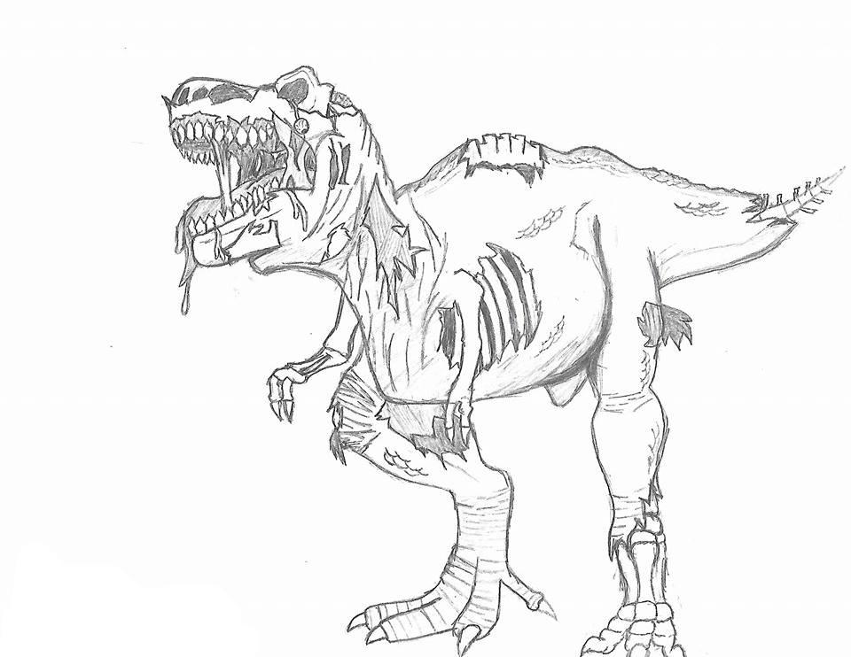 Zombie T Rex By Gluckamobob On Newgrounds