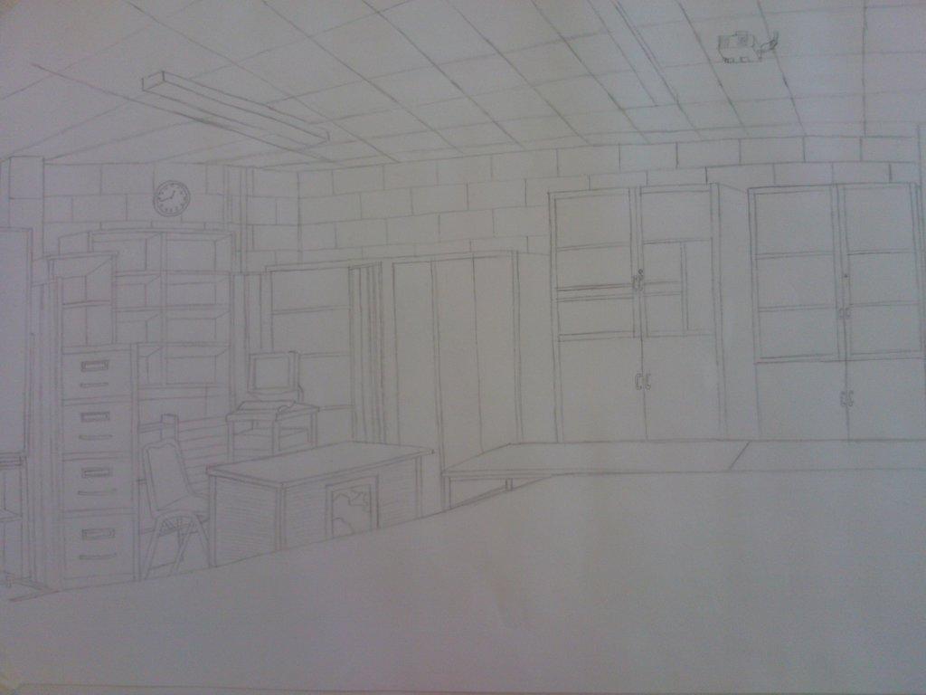 Classroom Sketch