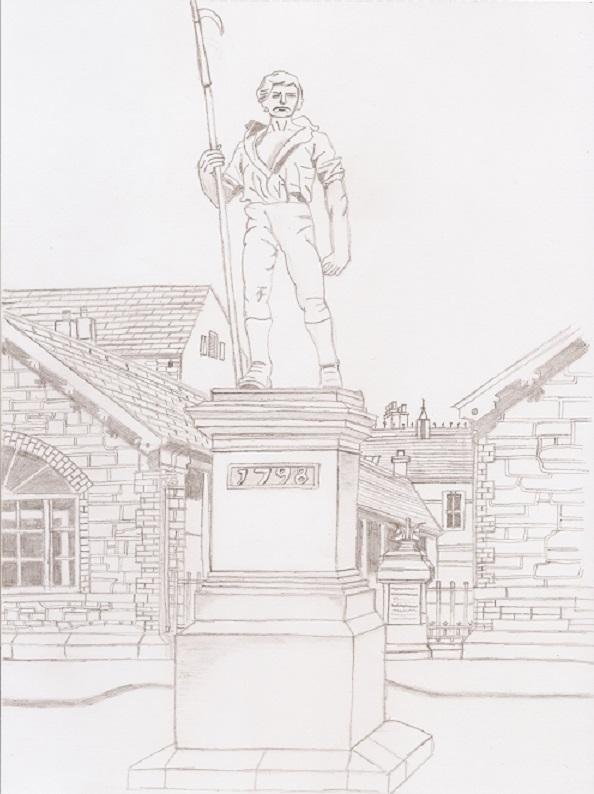 Pikeman Statue