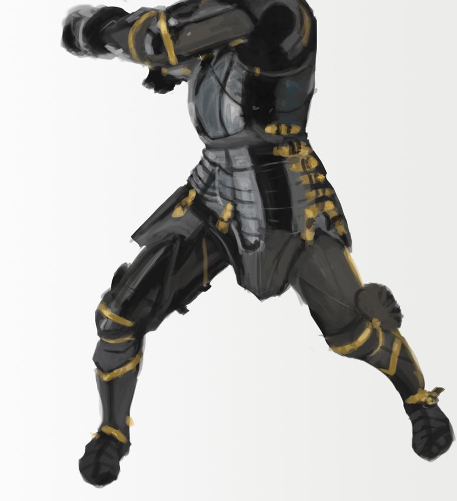 Armor study 2