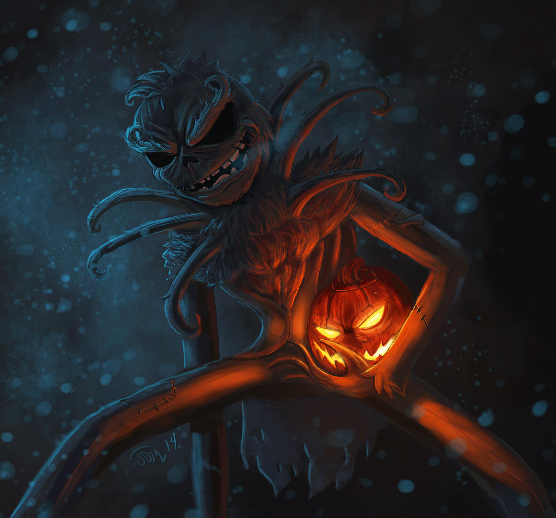Jack Skellington + The Grinch = Skellrinch!