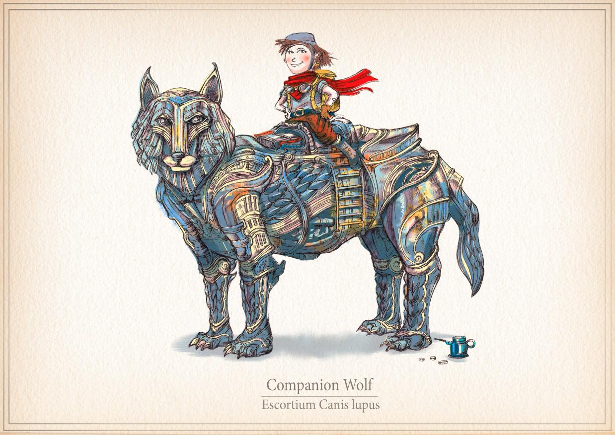 The Companion Wolf - Escortium Canis Lupus