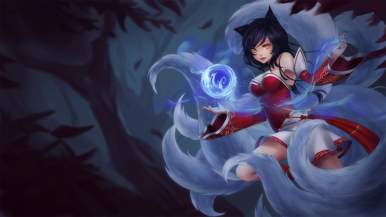 Anime Ahri Splash