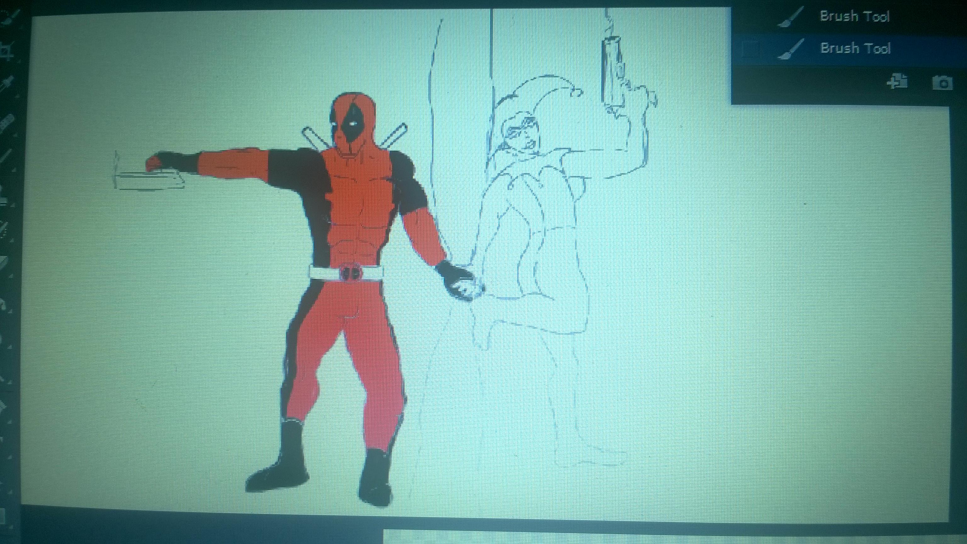Deadpool x Harley wip
