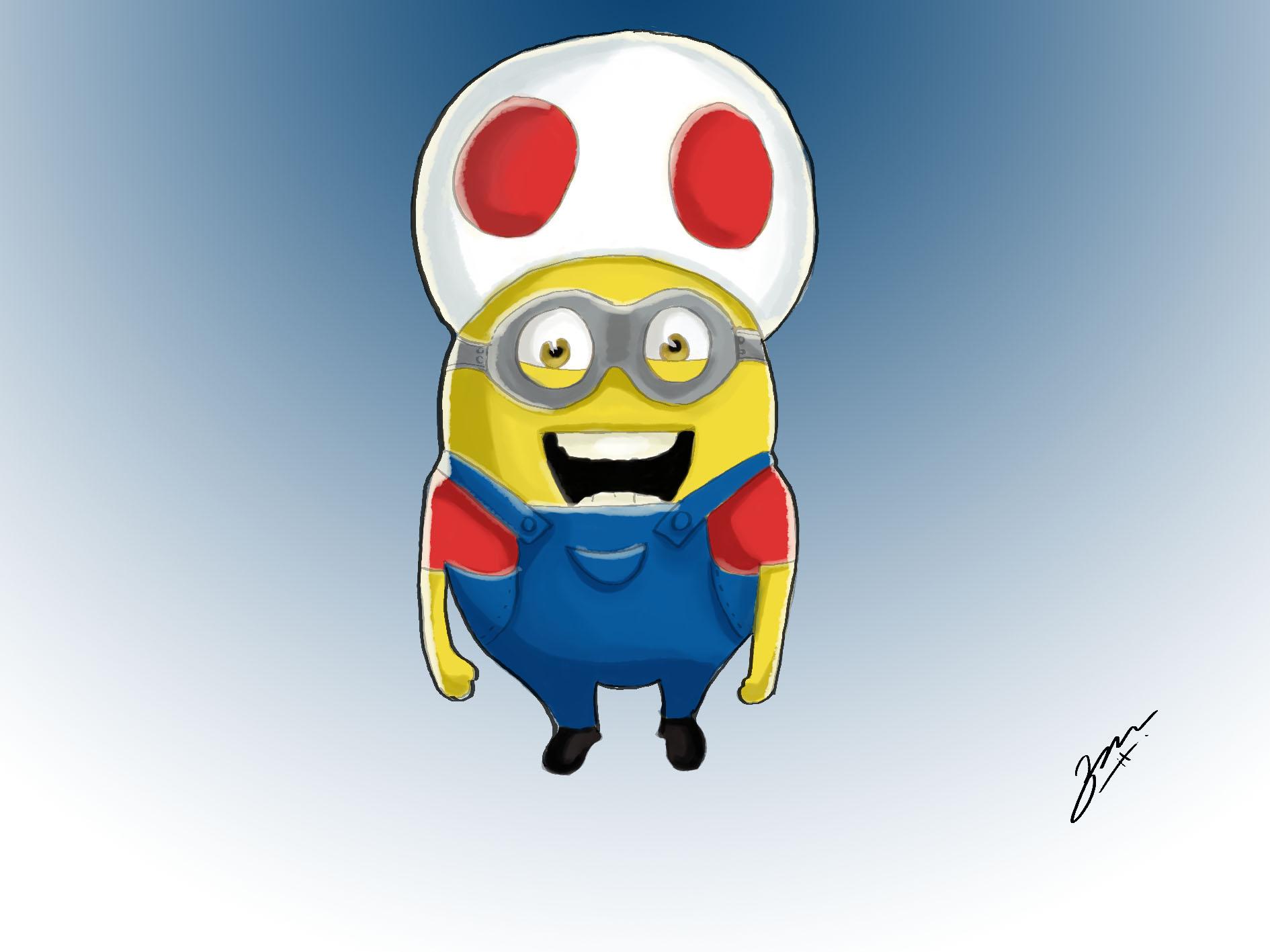 Mario Mushroom Minion
