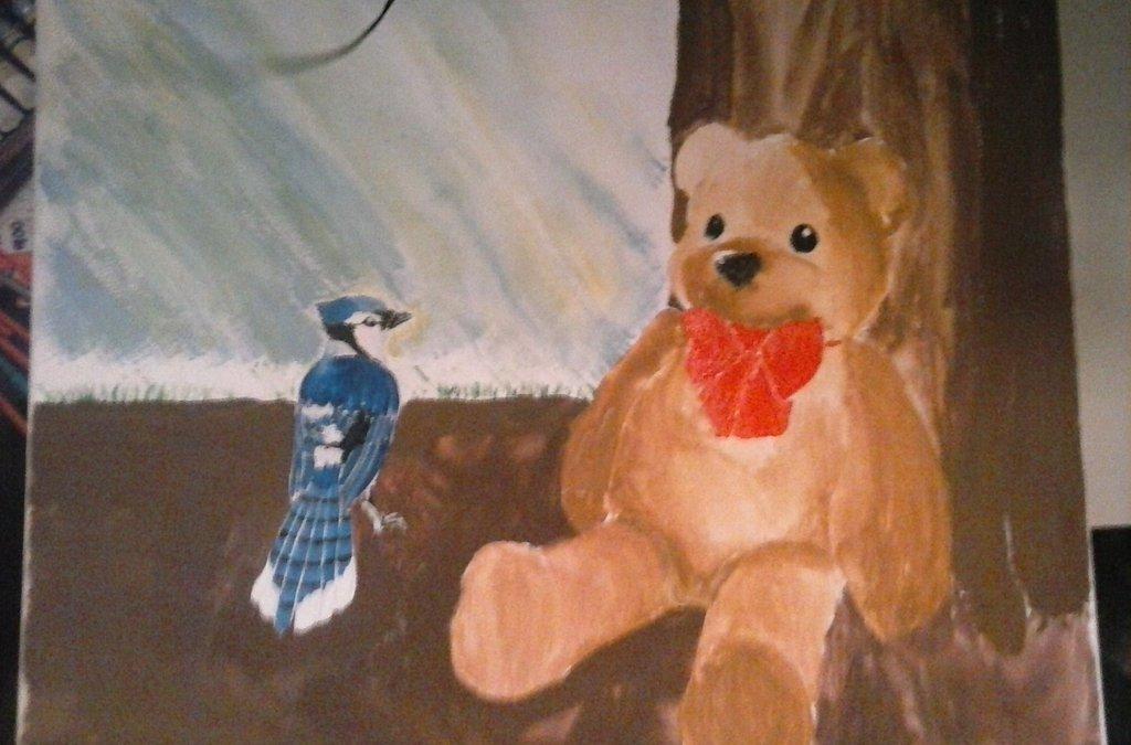 Teddy and Blue Jay