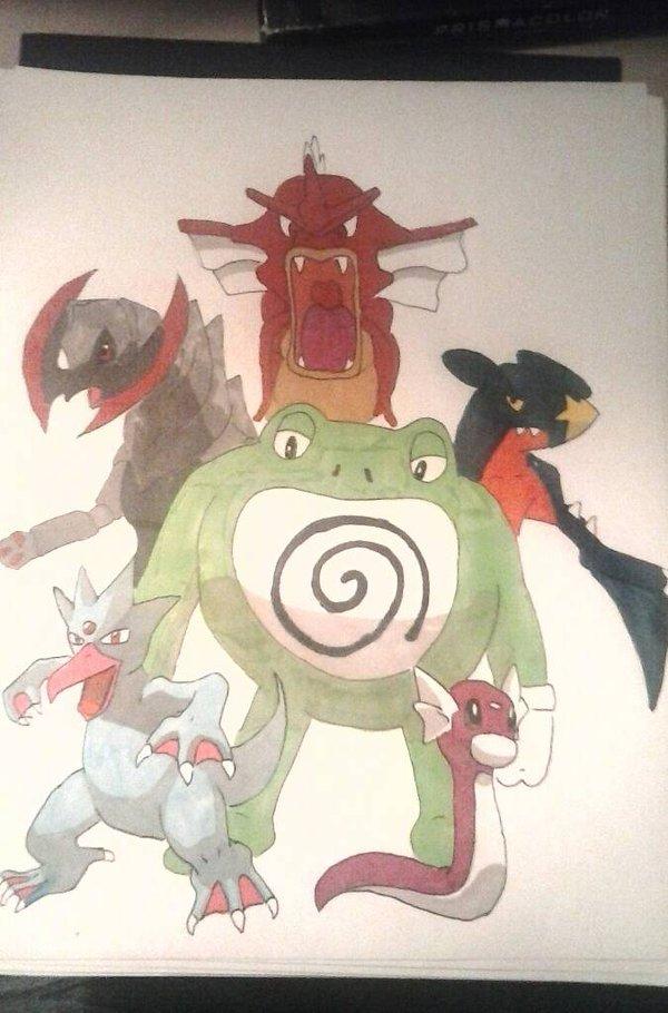 Pokémon team commission