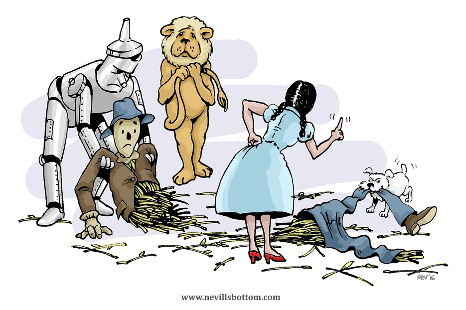 Toto misbehaves