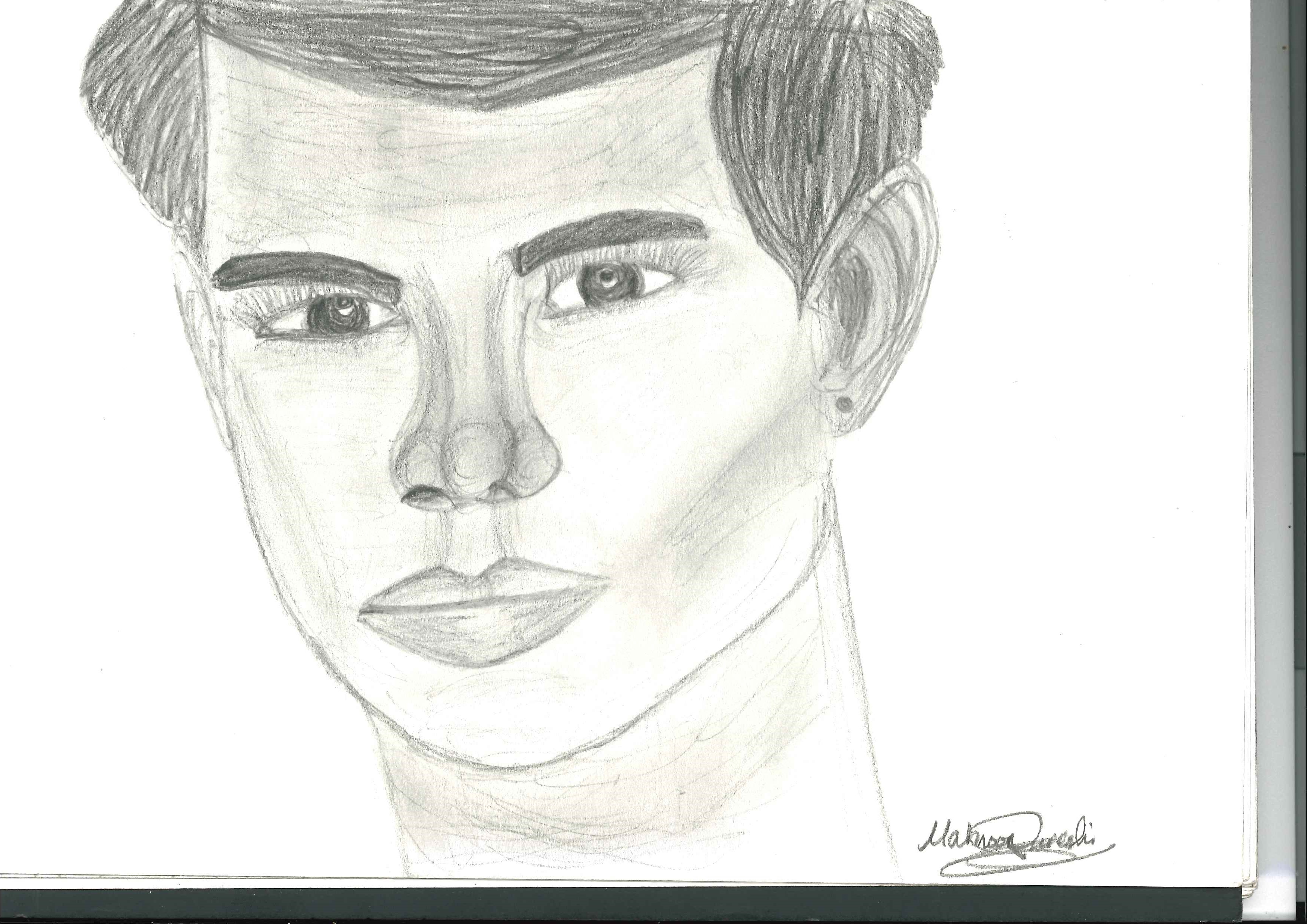 TAYLOR LAUTNER DRAWING