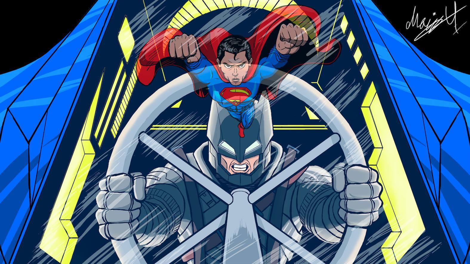Color Batman V Superman Talenthouse Contest entry