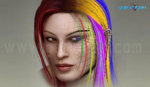 Creating Hair Polygons