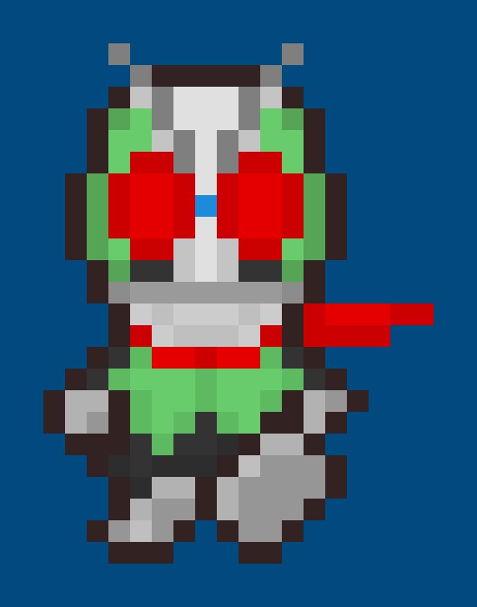Kamen Rider Ichigo Earthbound Style