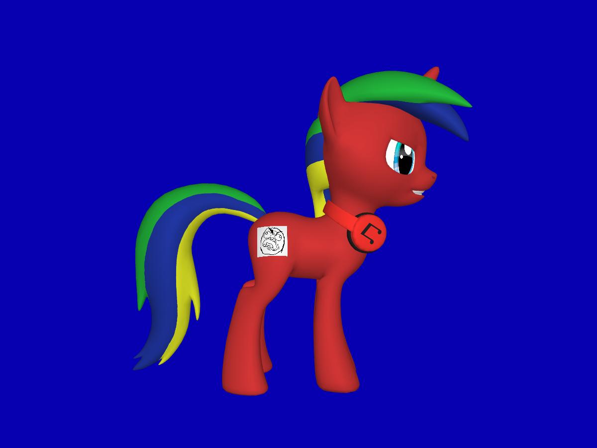 JeffTheGamr Pony OC