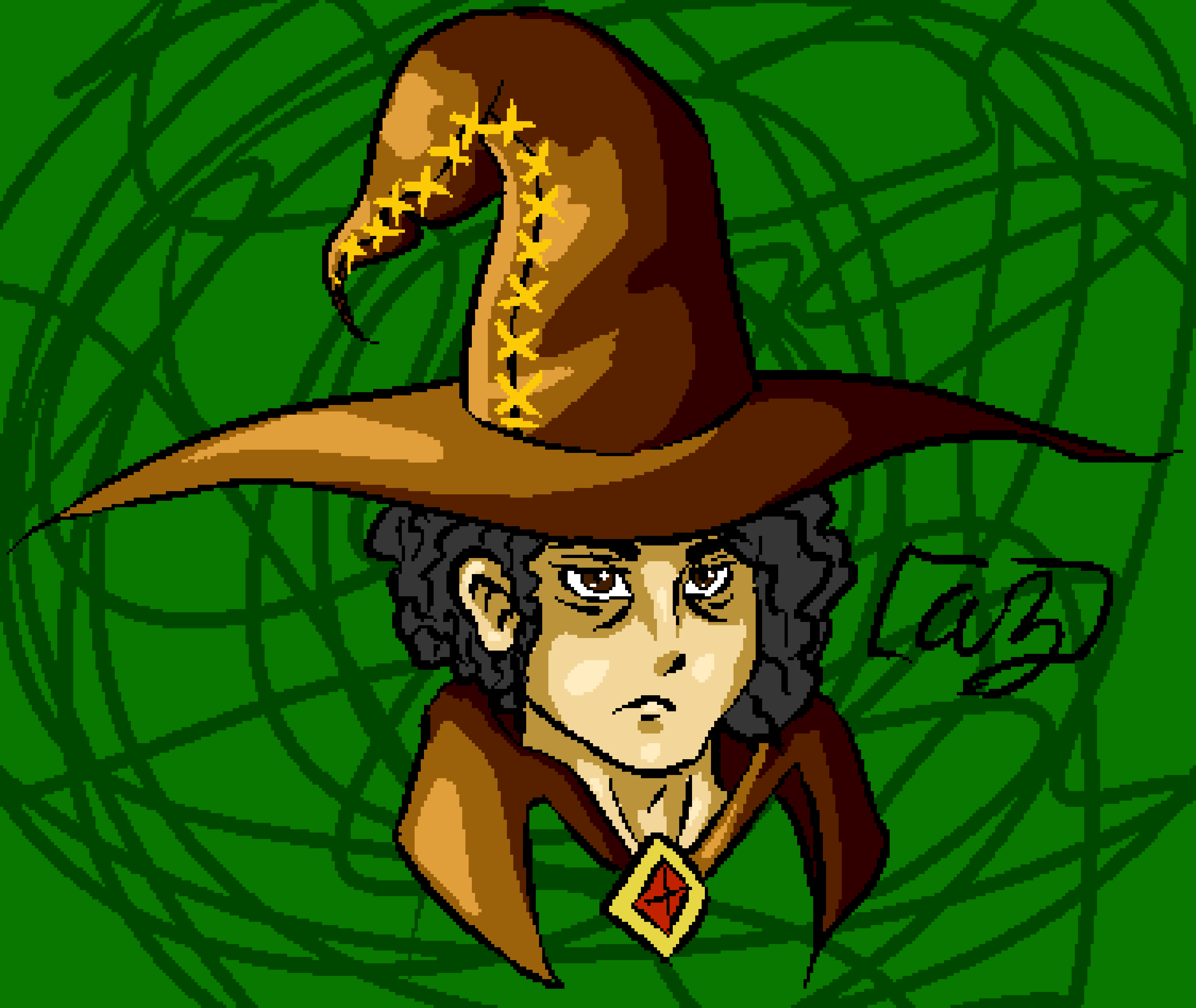 the great sorcerer AZ