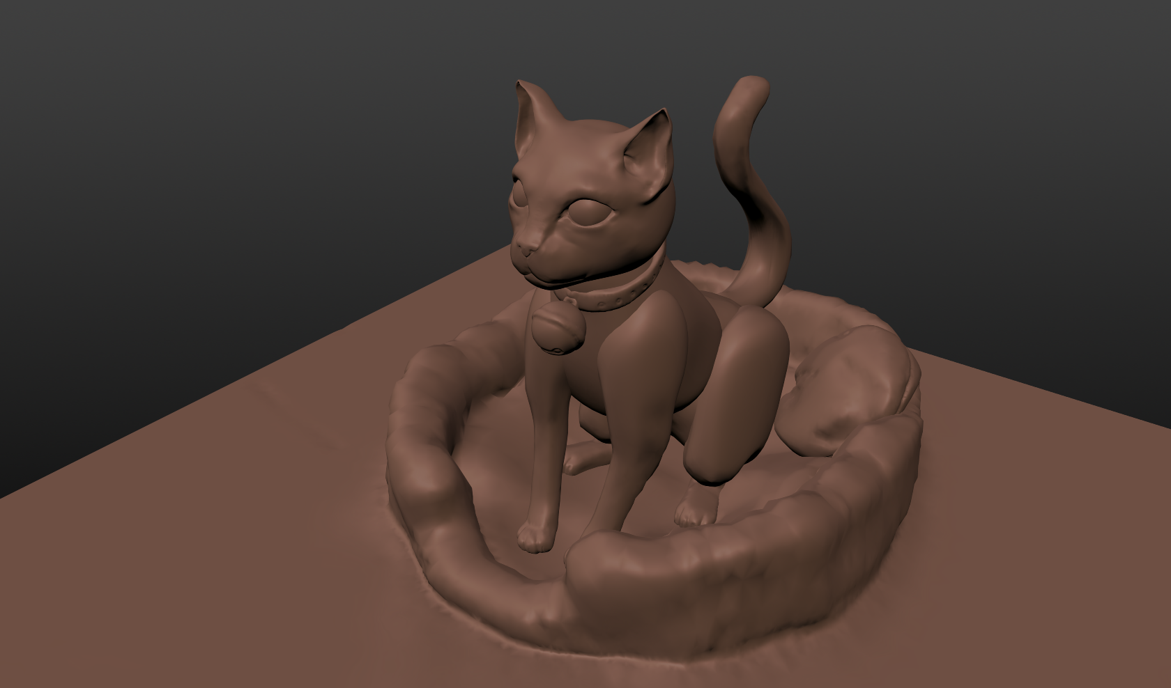 3D Kitty - My first 3D art ever