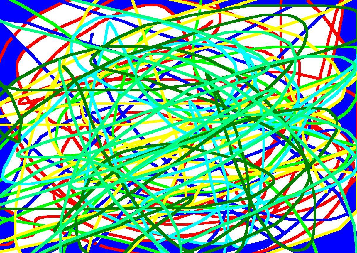 random scribbles