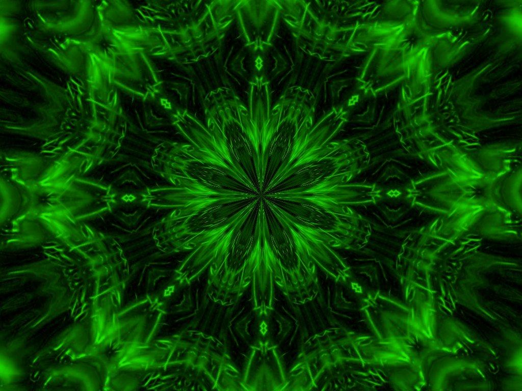 Neon Green Twirl