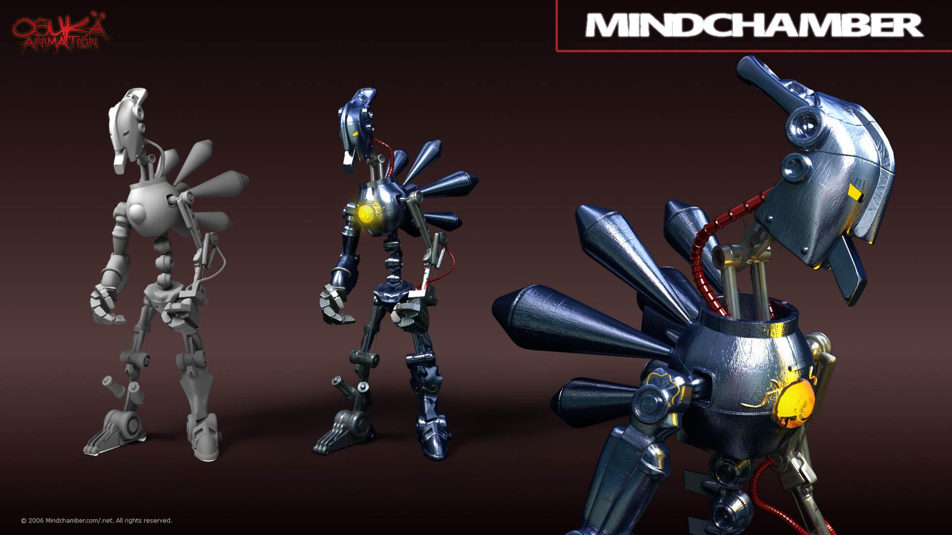 Mindchamber 3D Design