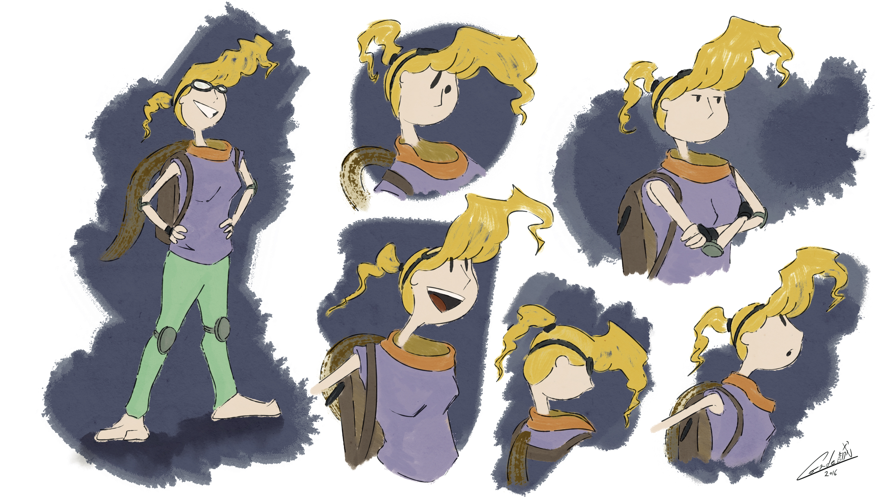 Valbe Expression Sheet 01