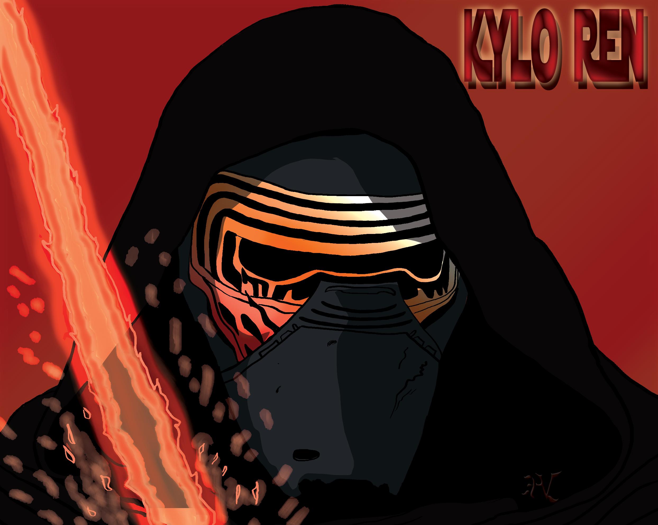 Kylo Ren Homage to SWTFA