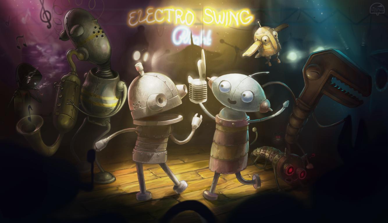 Robo Dance Party