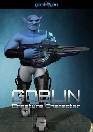 Goblin Creature Character Animation