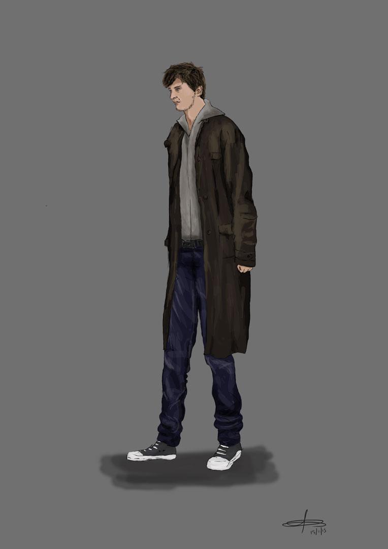 Trench Coat Guy