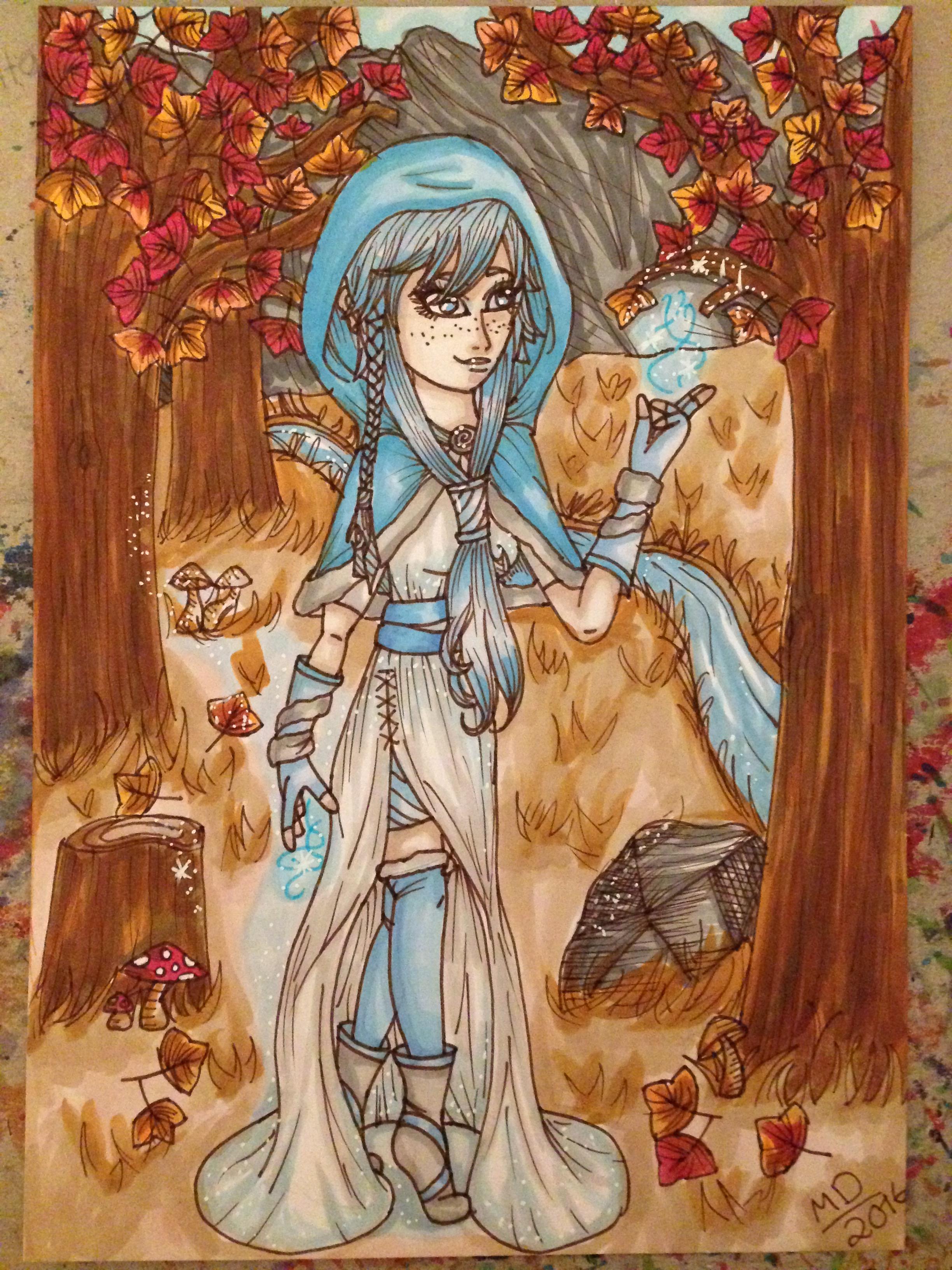 My Wandering Seasons Artwork (Final piece)