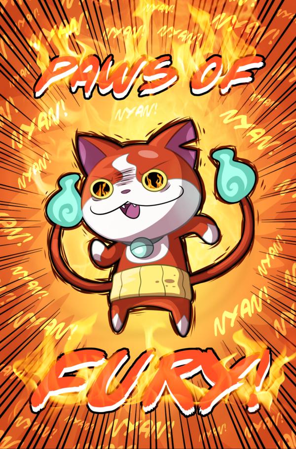 Jibanyan's Paws of Fury!