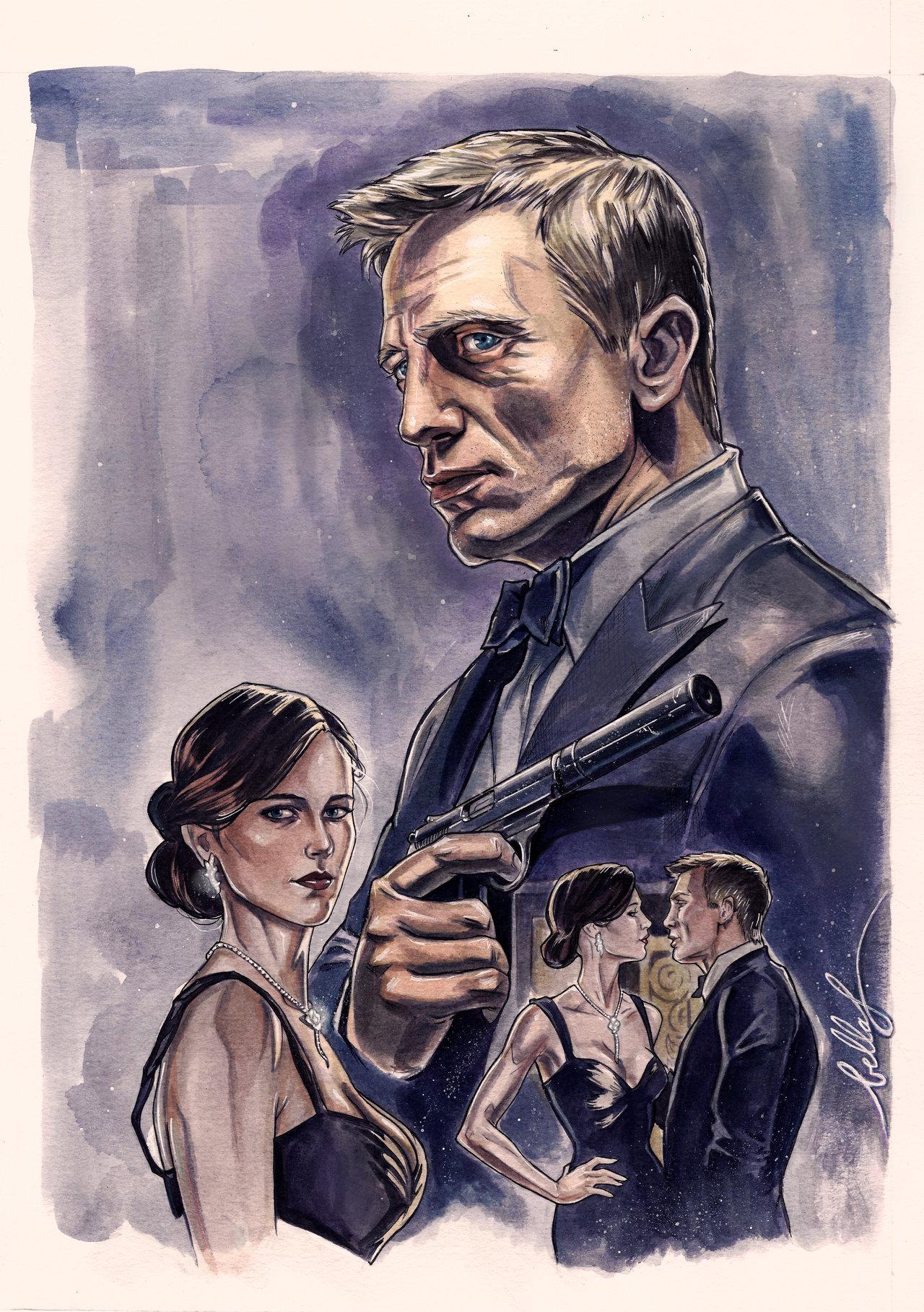 Daniel Craig and Eva Green :D