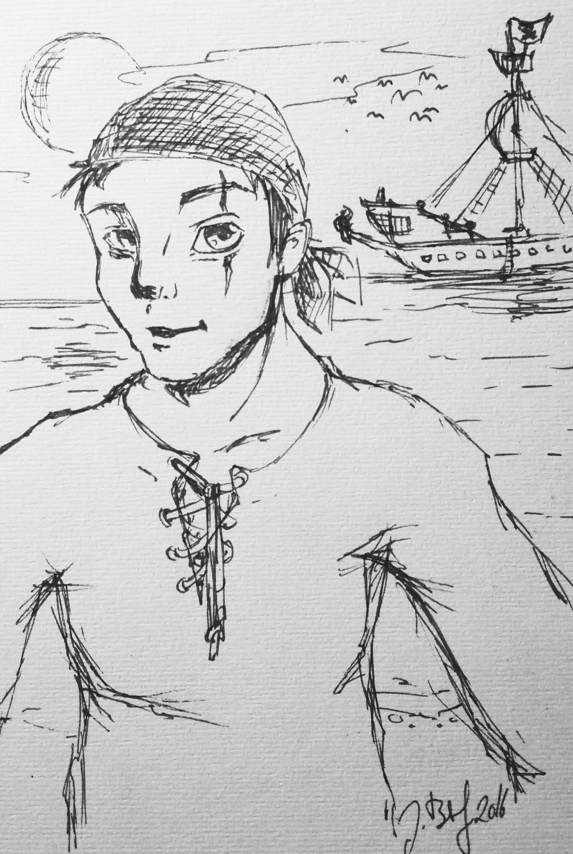 Pirat Sketch