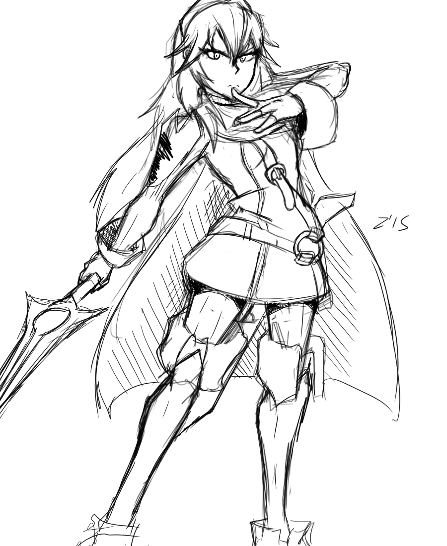 Lucina doodle