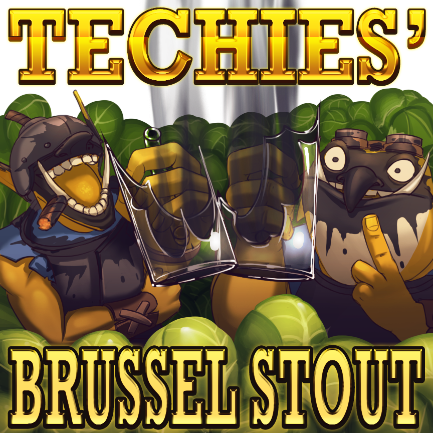 DOTA2: Techies' Brussel Stout