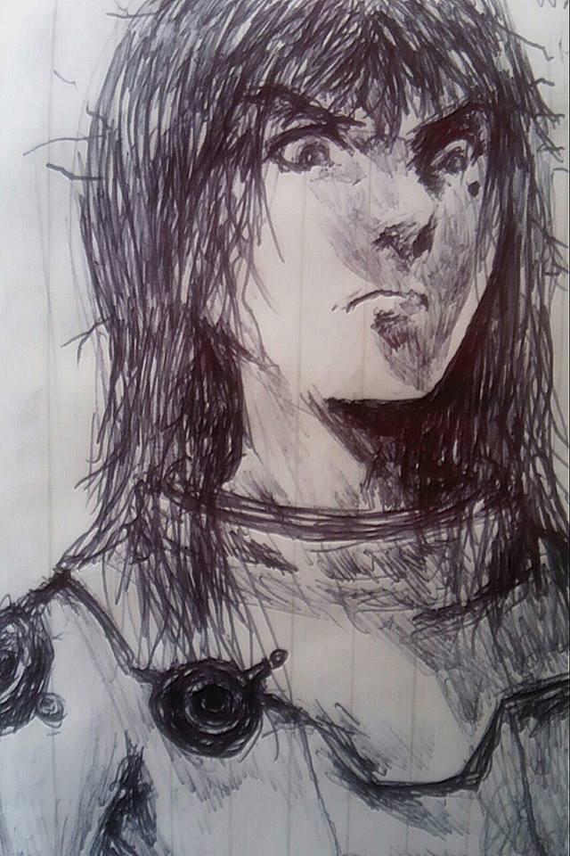 Miana (Concept Sketch)