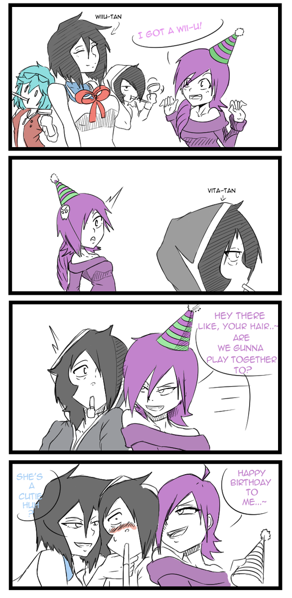 Zone-tan Birthday Gift
